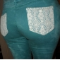 ts blonder lomme skinny jeans