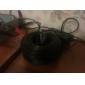 40 meter (eller 131 fot) BNC video og makt 12V DC integrert kabel