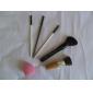 3PCS djurhår Round Tip Brush Kit Small Size