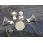 Lâmpadas de Foco de LED GU10 3W 240 LM 2700K K Branco Quente 60 SMD 3528 AC 220-240 V MR16