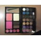 30 cores de maquiagem profissional mini-set