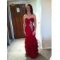 Trumpet/Mermaid Sweetheart Floor-length Chiffon Evening/Prom Dress