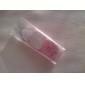 gepersonaliseerde hartvormige gunste tag - roze hartjes (set van 60)