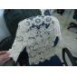 Sexy Encaje Bordado Crochet Cutwork Outwear Mujeres