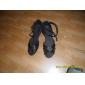 satinato superiore scarpe da ballo scarpe da ballo latino per le donne ei bambini più colori