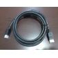 câble HDMI avec noyau en ferrite pour Playstation 3 (PS3) (1,5) (z-502) (smq304)