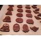 3D kakmått kaka dekoration Mould set av 4 st