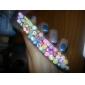 Bâton de canne Décorations 50pcs 3D Rod d'autocollants à ongles d'art (couleur aléatoire)