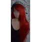 Perruques de Cosplay Naruto Sarah Rouge Moyen Anime Perruques de Cosplay 60 CM Fibre résistante à la chaleur Féminin