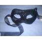Mask Cosplay Festival/Högtid Halloween Kostymer Röd / Vit / svart Enfärgat / Spets Mask Halloween / Karnival / Nyår Unisex Spets
