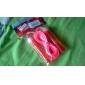 Poignée en plastique PVC Rope Skipping réglable dans une carte de signature (couleurs assorties, 3M)
