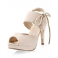 Leatherette High Heel Sandals With Laces For Party/Evening (More Colors)