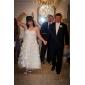 hääpuku-line / princess rakas nilkka-pituus organza mekko