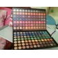 168 färger matt och skimmer makeup ögonskugga platta