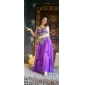 Women Dance Wear Chiffon With Coins Performance Belly Dance Skirt More Colors