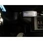 blått ljus bil digital in-och utsida termometer