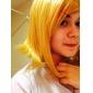 Cosplay Peruker Vocaloid Kagamine Rin Guld Kort Animé/ Videospel Cosplay Peruker 40 CM Värmebeständigt Fiber Kvinna