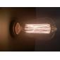 glödlampa retro vintage industri glödande 40W