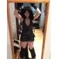 Sexy Black Woman Déguisements Cheshire Cat Corset Costumes d'Halloween