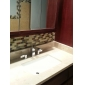 strö ® av lightinthebox - krom utbredd två handtag massiv mässing kran badrum sink