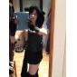 sexig kvinna svart maskeraddräkter Cheshire Cat korsett Halloween