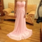 Prom / Formal Evening / Military Ball Dress - Open Back Sheath / Column Strapless / Sweetheart / Spaghetti Straps Floor-length Chiffon