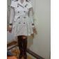 Chic Leatherette Stiletto Heel över knät stövlar med dragkedja Party / Evening Shoes (Fler färger)