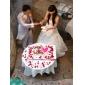 웨딩 드레스 - 아이보리(색상은 모니터에 따라 다를 수 있음) A 라인/프린세스 바닥 길이 스윗하트 태피터/레이스 플러스 사이즈
