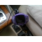 bil mp3-afspiller med FM-modulator, usb / TF kortlæser, lcd-lilla