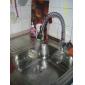 Sprinkle® - ottone abbattere rubinetto della cucina con la luce cambia colore led - primavera