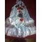Sexy Fancy Blue dress Halloween Costume Cinderella Maid (2Stück)
