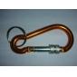 Al Alloy Locking Aluminium Carabiner (willekeurige kleur)