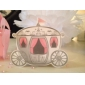 """""""Enchanted Carriage"""" Fairytale Themed Favor Box (Set of 12)"""