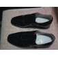 Scarpe da ballo - Non personalizzabile - Uomo - Sala da ballo - Tacco spesso - Pelle - Nero / Bianco