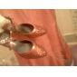 konstläder / mousserande glitter övre balsal moderna dans skor för kvinnor mer färger