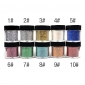 1PCS Colorful Twinkled Powder Nail Decorations (Assorted Color)