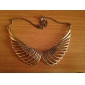 Women's Vintage Cut Out Wing Necklace