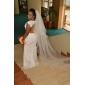 Trumpet/Mermaid Plus Sizes Wedding Dress - Ivory Court Train Jewel Chiffon