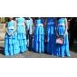 BERNARDA - kjole til junior brudepige i chiffon