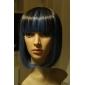 lolita peruk inspirerad av brun och blå blandad färg 40cm punk