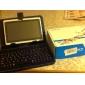 Etui de protection en cuir pour Clavier + Tablet PC  7 pouces (port USB)