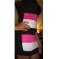 Femei Fermecatoare Rose Tank alb rochie mini