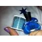 UV-färg Kaviar Builder och täckfärg Gel Nail Polish No.1-5 (12ml, blandade färger)