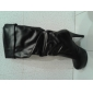 Dame Primăvară Toamnă Iarnă Pantofi la Modă Imitație de Piele Casual Rochie Toc Stiletto Negru Fildeș Alb