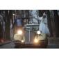Trumpet/Mermaid Plus Sizes Wedding Dress - Ivory Knee-length Bateau Tulle/Lace