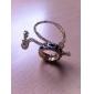 MISS U Kvinnors Gold Leopard Långt halsband