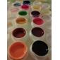 12st ren färg uv gel & snabbtorkande rengöringsmedel polish (12mm)