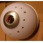 Rör sensorn färgrik ljus digital klocka tid projektor (vit, 3xAAA)