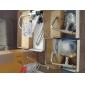 Rotation contemporain espace Aluminium Porte-serviettes