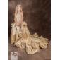 MERTICE - Kleid für Blumenmädchen aus Tafft